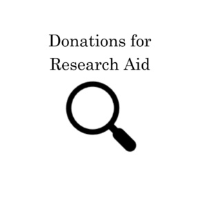 Research Request Donations: Donate Here If You Have Asked for Research Aid